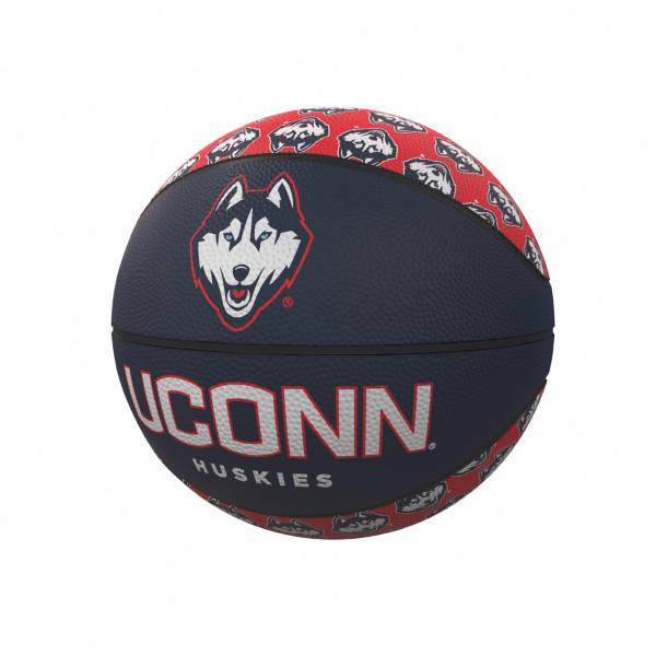 UConn Huskies Logo Mini Rubber Basketball product image