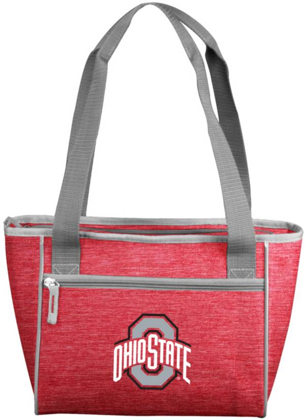 Ohio State Buckeyes Crosshatch Can Cooler Tote product image