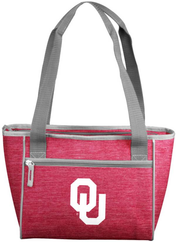 Oklahoma Sooners Crosshatch Can Cooler Tote product image