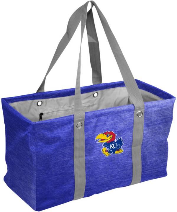 Kansas Jayhawks Crosshatch Picnic Caddy product image