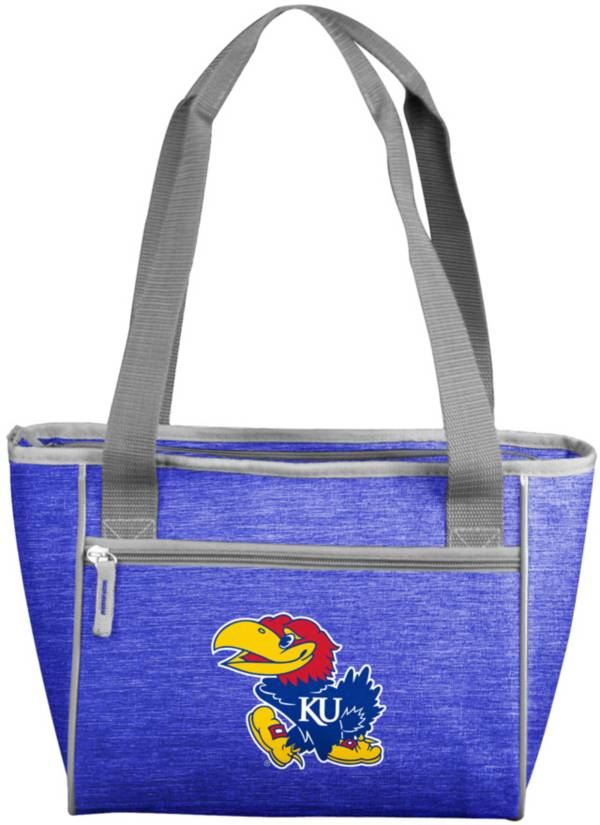 Kansas Jayhawks Crosshatch Can Cooler Tote product image