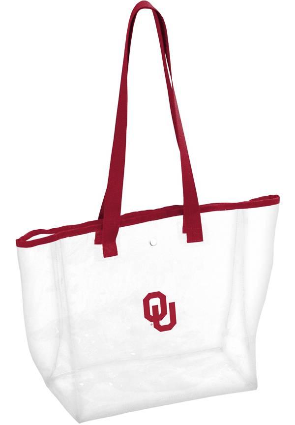 Oklahoma Sooners Clear Stadium Tote product image