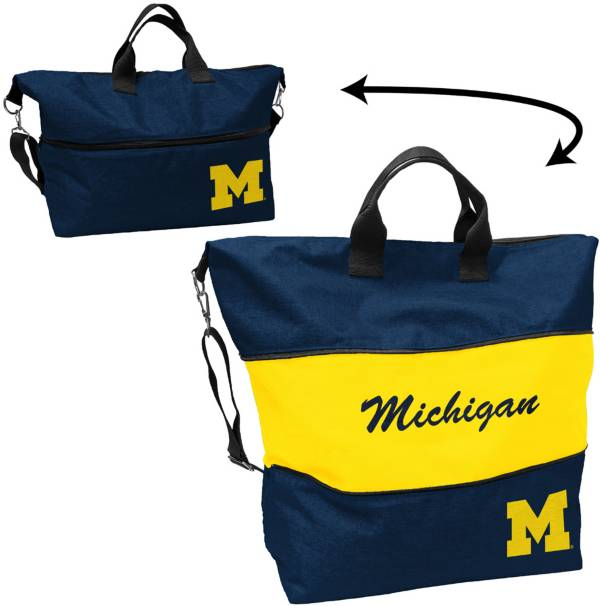Michigan Wolverines Crosshatch Tote product image