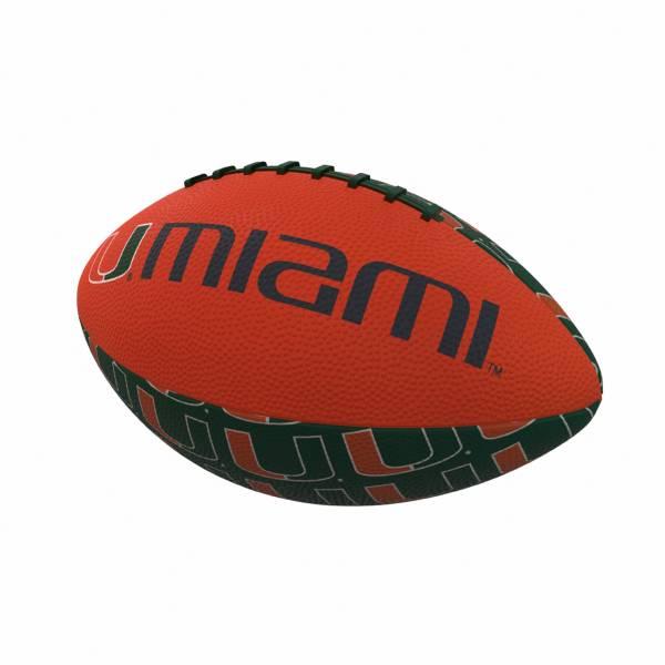Miami Hurricanes Mini Rubber Football product image