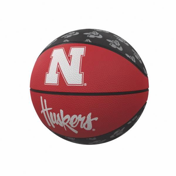 Nebraska Cornhuskers Logo Mini Rubber Basketball product image