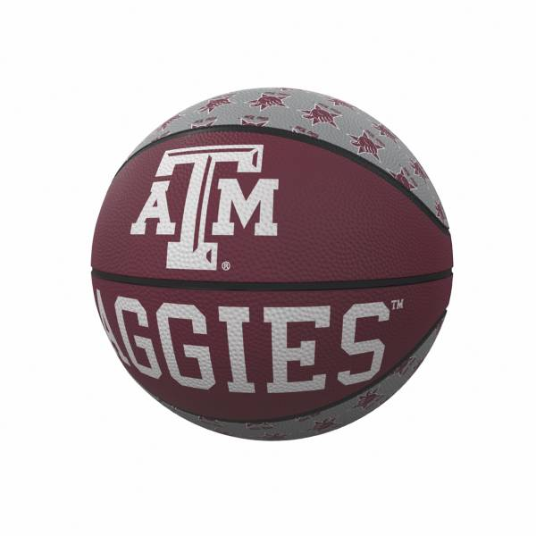 Texas A&M Aggies Logo Mini Rubber Basketball product image