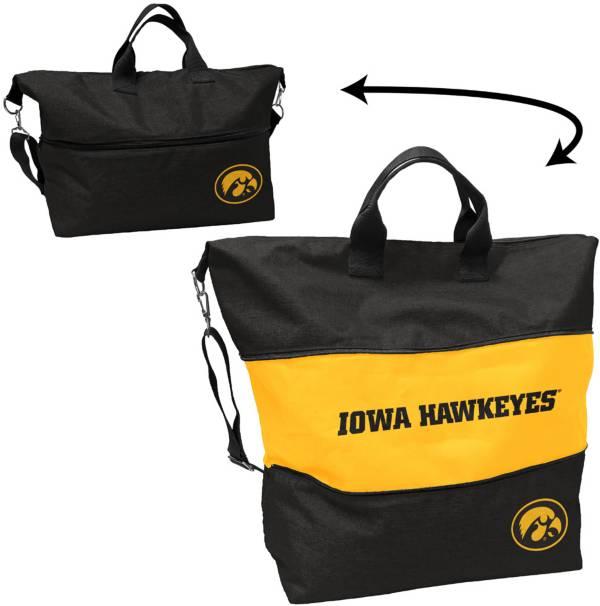 Iowa Hawkeyes Crosshatch Tote product image