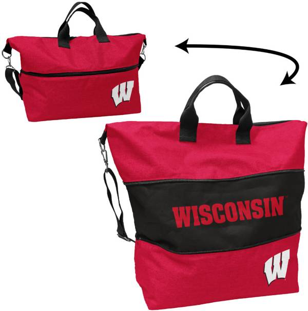 Wisconsin Badgers Crosshatch Tote product image