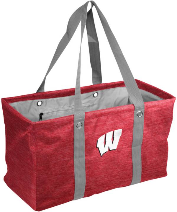 Wisconsin Badgers Crosshatch Picnic Caddy product image