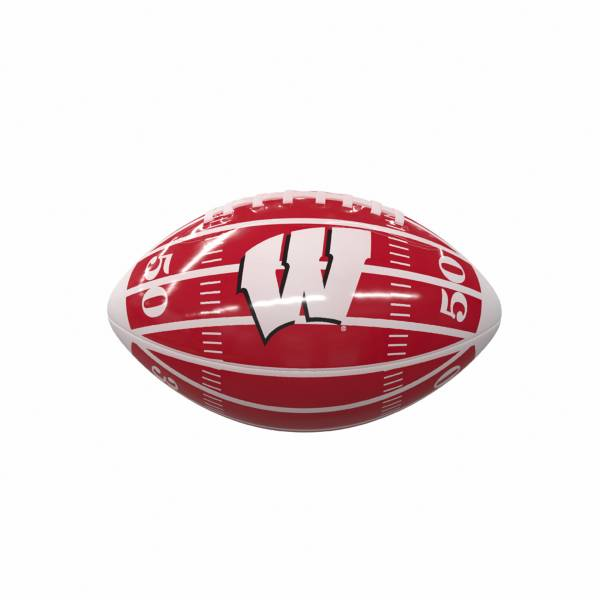 Wisconsin Badgers Glossy Mini Football product image