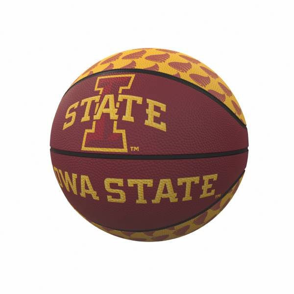 Iowa State Cyclones Logo Mini Rubber Basketball product image