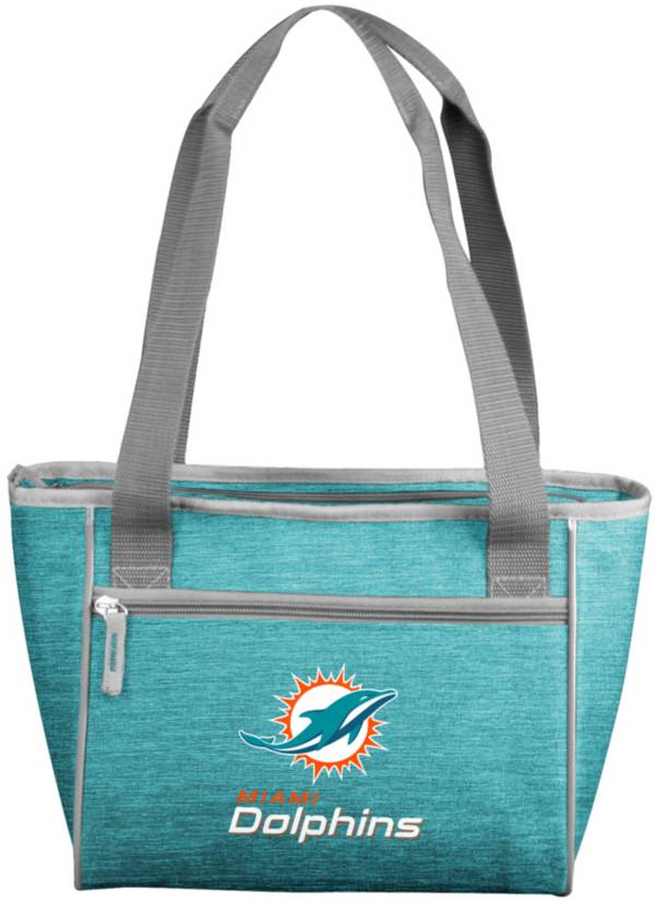 Miami Dolphins Crosshatch Can Cooler Tote product image