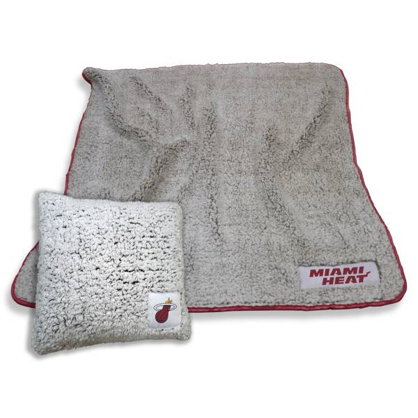 Logo Miami Heat Frosty Blanket And Pillow Bundle product image