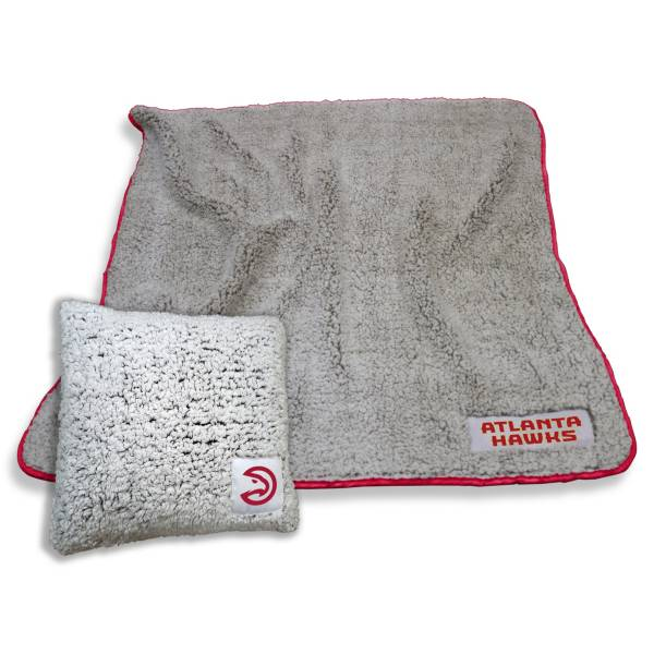 Logo Atlanta Hawks Frosty Blanket And Pillow Bundle product image