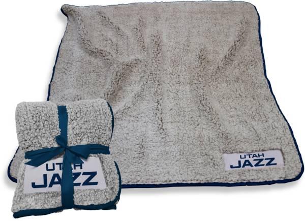 Logo Utah Jazz 50'' x 60'' Frosty Fleece Blanket product image