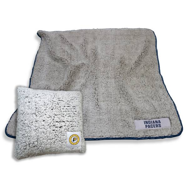 Logo Indiana Pacers Frosty Blanket And Pillow Bundle product image