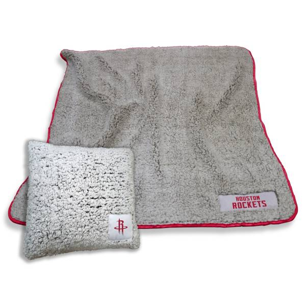 Logo Houston Rockets Frosty Blanket And Pillow Bundle product image