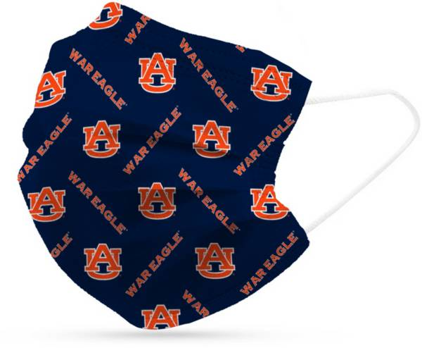 Adult Auburn Tigers 6-Pack Disposable Face Coverings product image