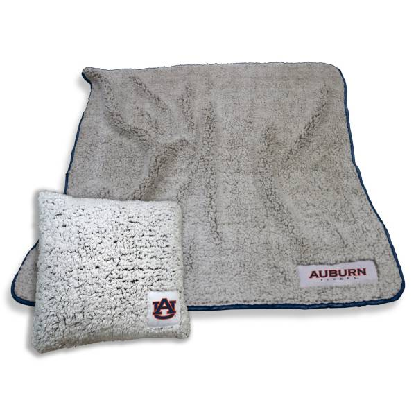 Logo Auburn Tigers Frosty Blanket And Pillow Bundle product image