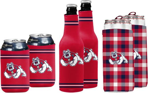 Fresno State Bulldogs Koozie Variety Pack product image