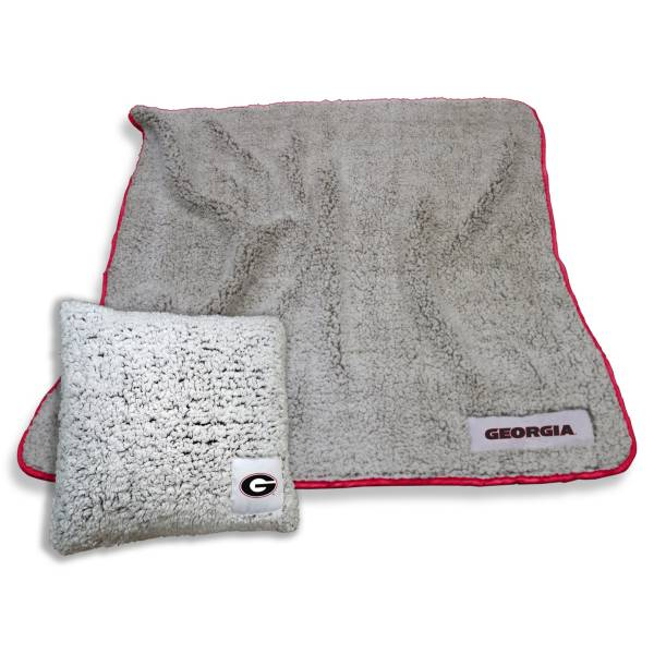 Logo Georgia Bulldogs Frosty Blanket And Pillow Bundle product image