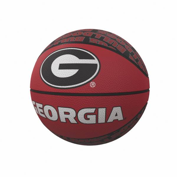Georgia Bulldogs Logo Mini Rubber Basketball product image