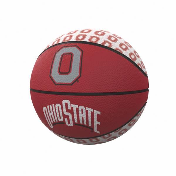 Ohio State Buckeyes Logo Mini Rubber Basketball product image