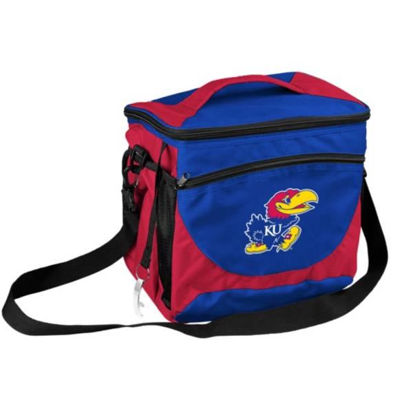 Kansas Jayhawks 24 Can Cooler product image