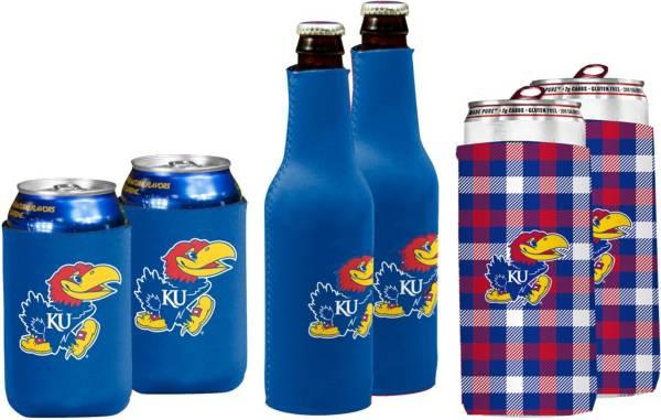 Kansas Jayhawks Koozie Variety Pack product image
