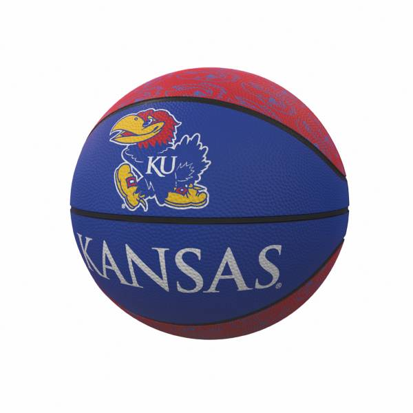 Kansas Jayhawks Logo Mini Rubber Basketball product image