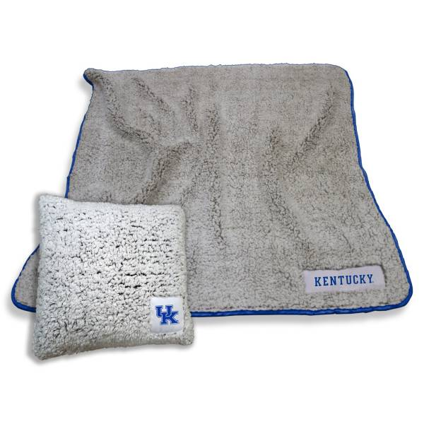 Logo Kentucky Wildcats Frosty Blanket And Pillow Bundle product image