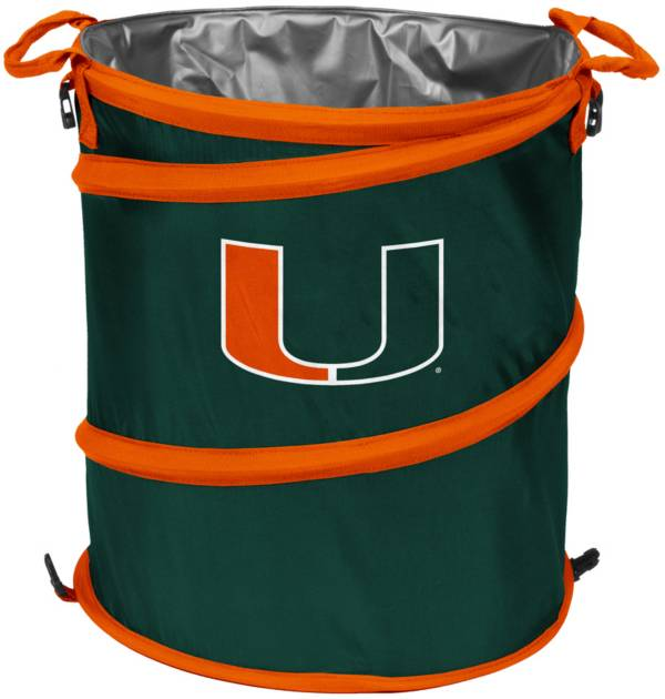 Miami Hurricanes Trash Can Cooler product image