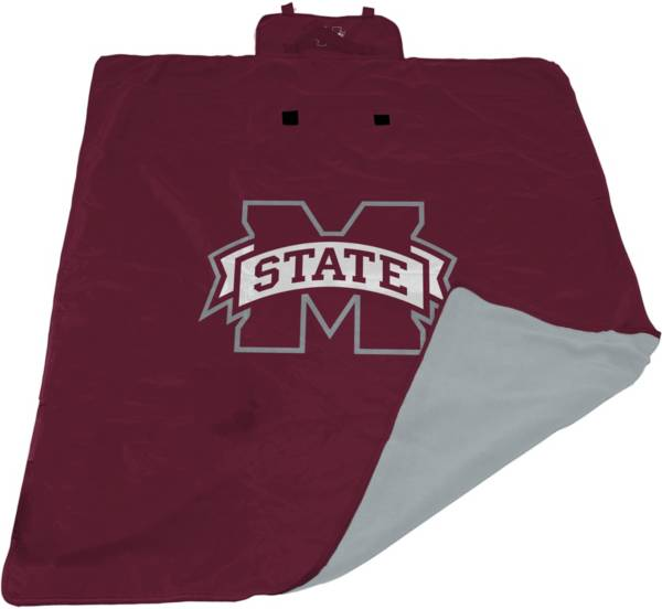 Logo Mississippi State Bulldogs 60'' x 80'' All Weather XL Blanket product image