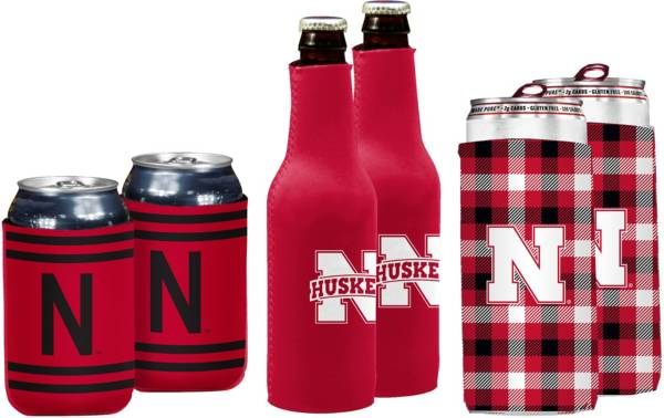 Nebraska Cornhuskers Koozie Variety Pack product image