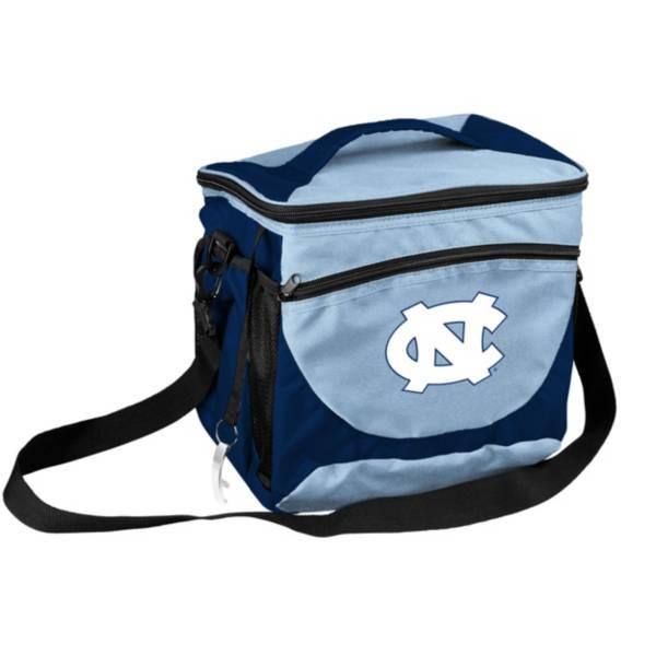 North Carolina Tar Heels 24 Can Cooler product image