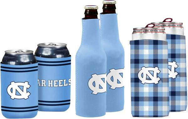 North Carolina Tar Heels Koozie Variety Pack product image