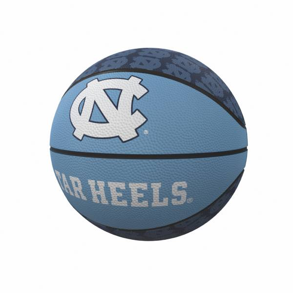 North Carolina Tar Heels Logo Mini Rubber Basketball product image