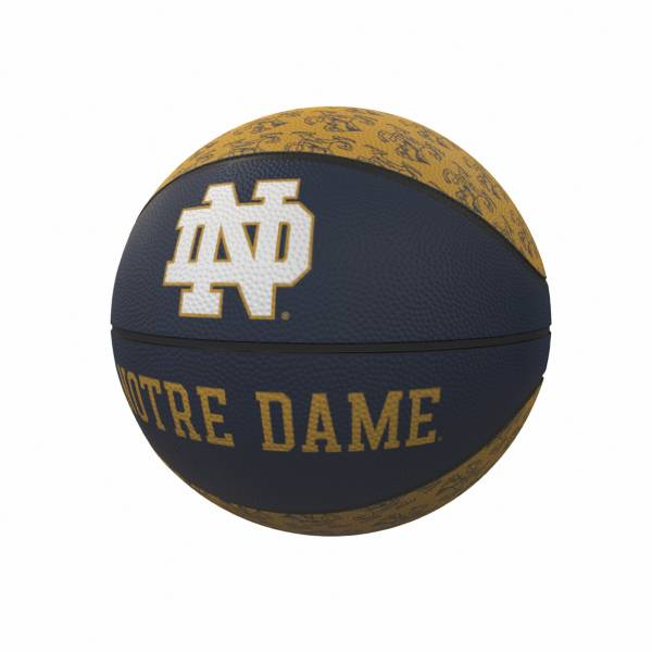 Notre Dame Fighting Irish Logo Mini Rubber Basketball product image