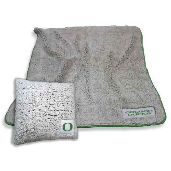 Logo Oregon Ducks Frosty Blanket And Pillow Bundle product image