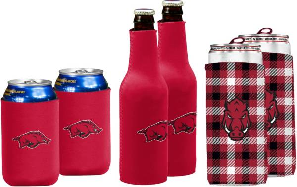 Arkansas Razorbacks Koozie Variety Pack product image