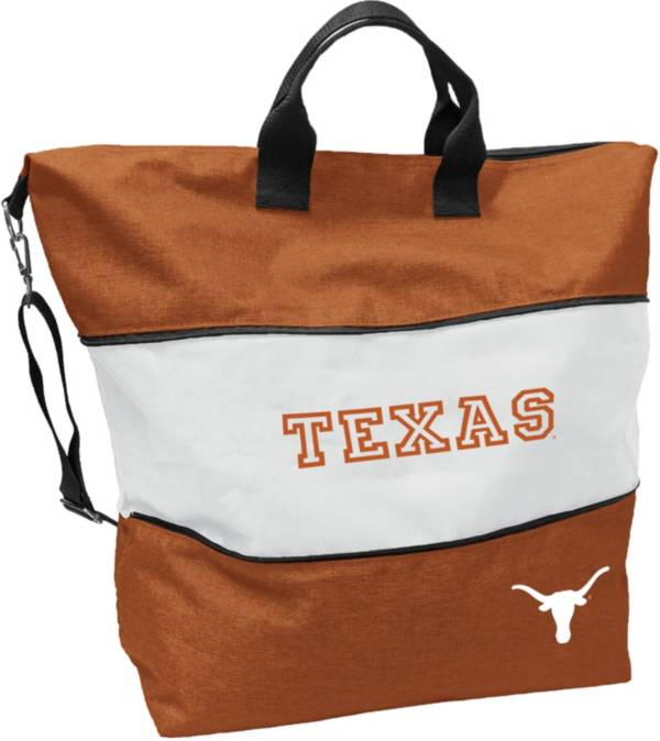 Logo Texas Longhorns Crosshatch Expandable Tote product image
