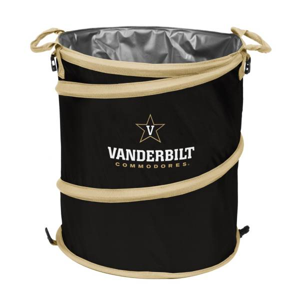 Vanderbilt Commodores 3-in-1 Collapsible Trash Can Cooler product image