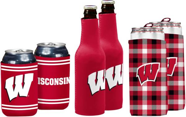 Wisconsin Badgers Koozie Variety Pack product image