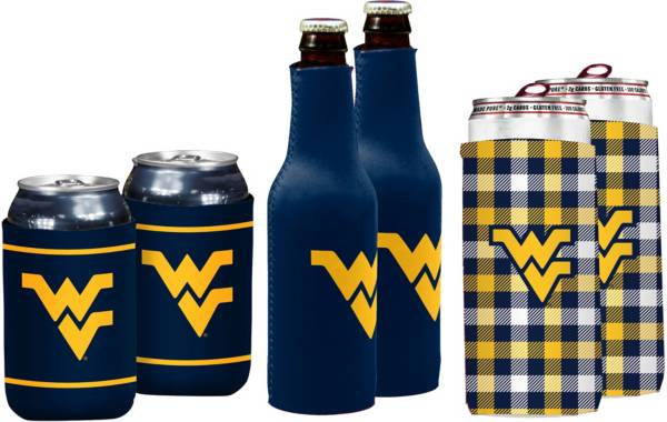 West Virginia Mountaineers Koozie Variety Pack product image