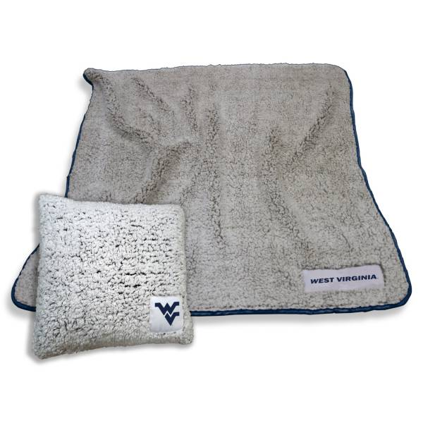 Logo West Virginia Mountaineers Frosty Blanket And Pillow Bundle product image