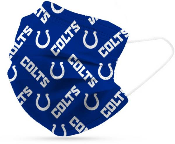 Adult Indianapolis Colts 6-Pack Disposable Face Coverings product image