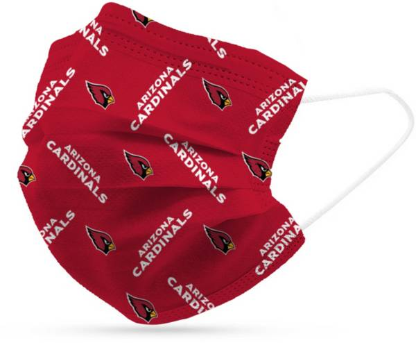 Adult Arizona Cardinals 6-Pack Disposable Face Coverings product image