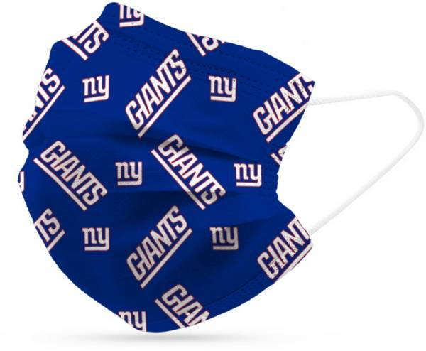 Adult New York Giants 6-Pack Disposable Face Coverings product image