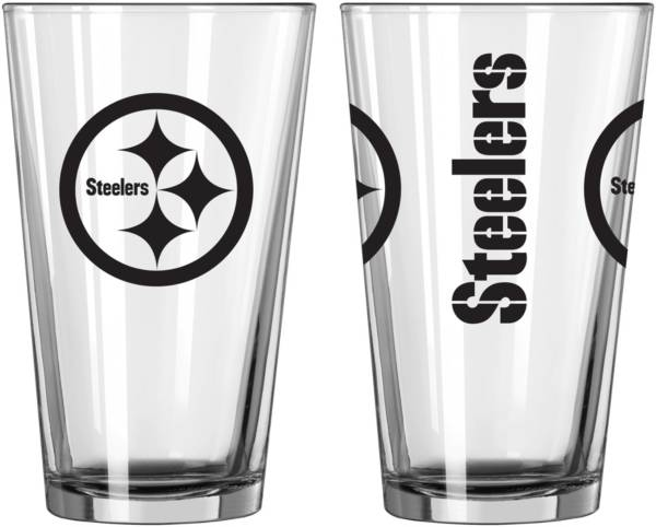 Logo Pittsburgh Steelers Gameday 16oz. Pint Glass product image