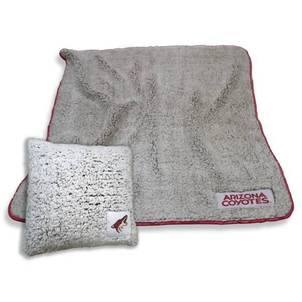 Logo Arizona Coyotes Frosty Blanket And Pillow Bundle product image